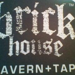 Photo taken at Brick House Tavern + Tap by Krystal P. on 10/13/2011