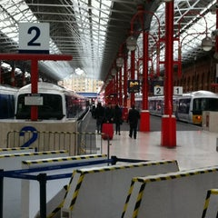 Photo taken at Platform 1 by Sabah M. on 2/18/2012
