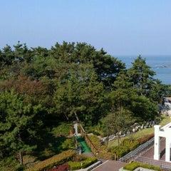 Photo taken at 대명리조트 변산 (Daemyong Resort BYEONSAN) by Kwan Hee K. on 10/7/2011