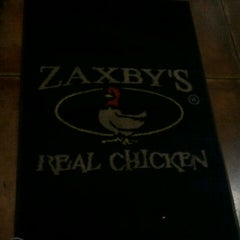 Photo taken at Zaxby's by Jane G. on 4/16/2012