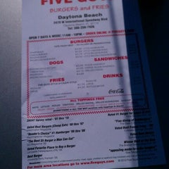 Photo taken at Five Guys by Tony R. on 12/17/2011