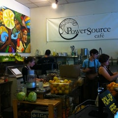Photo taken at PowerSource Cafe by Gilbert L. on 5/27/2011