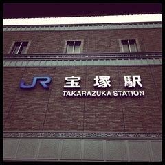 Photo taken at JR 宝塚駅 (Takarazuka Sta.) by Sammy525 on 2/5/2012