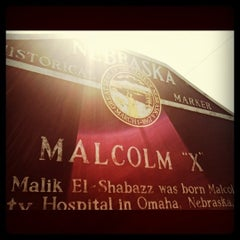 Photo taken at Malcolm X  Birthsite by Chris H. on 7/30/2011