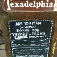 Photo taken at Texadelphia by Sean C. on 3/7/2012