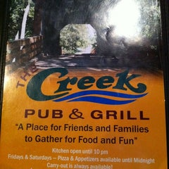 Photo taken at The Creek Pub and Grill by Drew F. on 9/4/2011