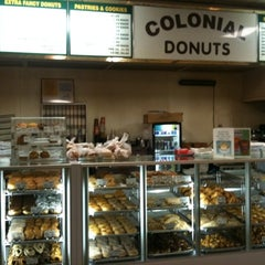 Photo taken at Colonial Donuts by Matt on 12/29/2010