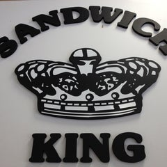 Photo taken at Sandwich King by Crystal S. on 6/13/2012