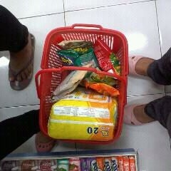 Photo taken at Indomaret GSI by Titia S. on 9/24/2011