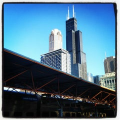 Photo taken at Metra - LaSalle Street by Gaspar D. on 4/12/2012
