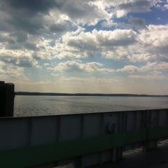 Photo taken at Crown Point Bridge Ferry by Maura O. on 8/2/2011