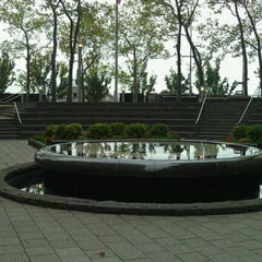 Photo taken at New York City Vietnam Veterans Memorial Plaza by Angel F. on 9/24/2011