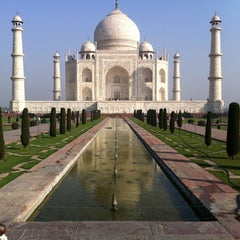 Photo taken at Taj Mahal | ताज महल | تاج محل by Mitchell M. on 2/29/2012