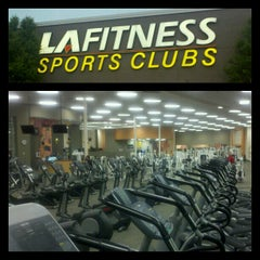 Photo taken at LA Fitness by Chas P. on 5/6/2012