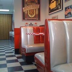 Photo taken at Happy Days Diner by Turtle I. on 3/11/2012
