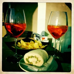 Photo taken at Italiana Caffè by Erika F. on 3/26/2012