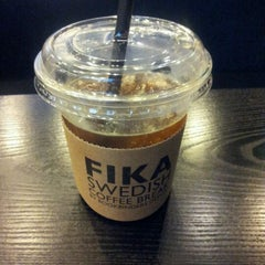 Photo taken at FIKA Swedish Coffee Break by Jin Sok L. on 5/2/2012