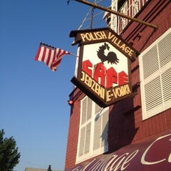 Photo taken at Polish Village Cafe by George M. on 8/3/2012