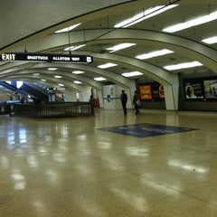 Photo taken at Downtown Berkeley BART Station by Rosemarie M. on 4/13/2012