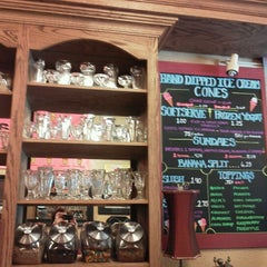 Photo taken at Grandpa's Ice Cream Parlor by Heather C. on 9/11/2012