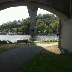 Photo taken at Burke Gilman Trail (Adobe) by Renea N. on 9/8/2012
