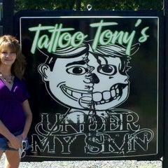 Photo taken at Under My Skin Tat2 by Misty M. on 9/9/2012
