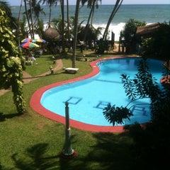 Photo taken at Dream Beach Resort by Tharindu P. on 5/8/2012