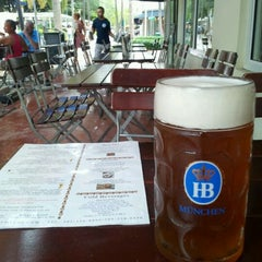 Photo taken at Hofbräu München Beer Hall by S. on 7/16/2012