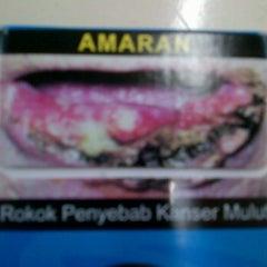 Photo taken at Smoking Area @ Kupang by Putra R. on 3/26/2012