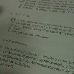 Photo taken at La Araucana Instituto Profesional by Rodrigo M. on 5/23/2012