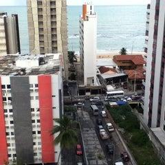 Photo taken at Avenida Bernardo Vieira de Melo by Allyson F. on 8/10/2012