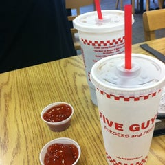 Photo taken at Five Guys by Sloane C. on 5/27/2012