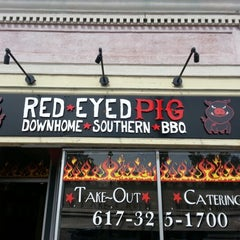 Photo taken at Red Eyed Pig by Jake S. on 8/22/2012