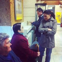 Photo taken at Oficina Correos by pau v. on 4/28/2012