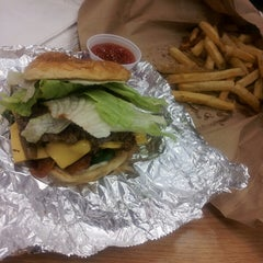 Photo taken at Five Guys by Suzan D. on 1/11/2014