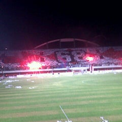 Photo taken at Stadion Maguwoharjo by Wahab B. on 8/15/2013