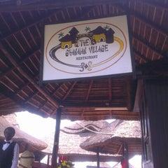 Photo taken at Ghanaian Village Restaurant by Nana Doudoa on 12/11/2012