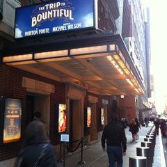 Photo taken at Stephen Sondheim Theatre by Glen K. on 4/22/2013