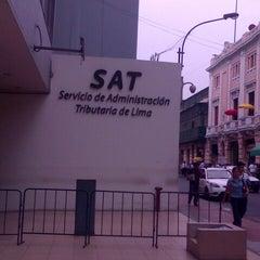 Photo taken at Servicio de Administración Tributaria de Lima by Santiago A. on 3/5/2013