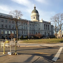 Photo taken at Bergen County Courthouse by KeLLy <3 on 12/20/2012