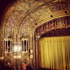 Photo taken at United Palace Theatre by Lisa P. on 6/13/2013