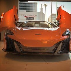 Photo taken at McLaren Beverly Hills by Fahad A. on 8/28/2015