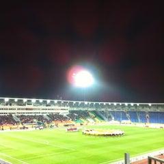 Photo taken at Центральный Стадион / Central Stadium by Руслан А. on 11/22/2012
