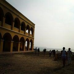 Photo taken at Castillo de Salgar by Lina C. on 3/25/2013