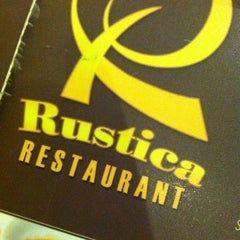 Photo taken at Rustica Restaurant by Carl B. on 12/1/2014