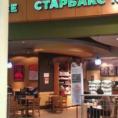 Photo taken at Starbucks by Evgeniya L. on 3/13/2013