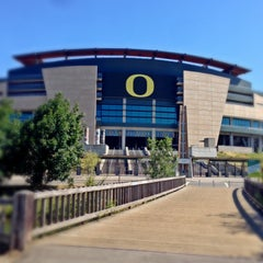 Photo taken at Autzen Stadium by Erik L. on 7/12/2013