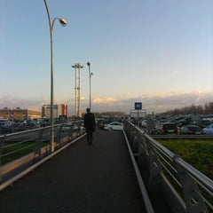 Photo taken at Парковка P5/ Parking by фёдр к. on 5/6/2013