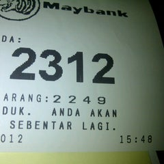 Photo taken at Maybank by Abay G. on 11/12/2012
