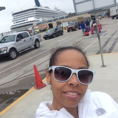 Photo taken at Galveston Cruise Terminal #2 by Nika H. on 4/11/2015